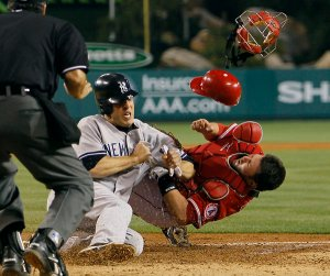 Collisions at home plate